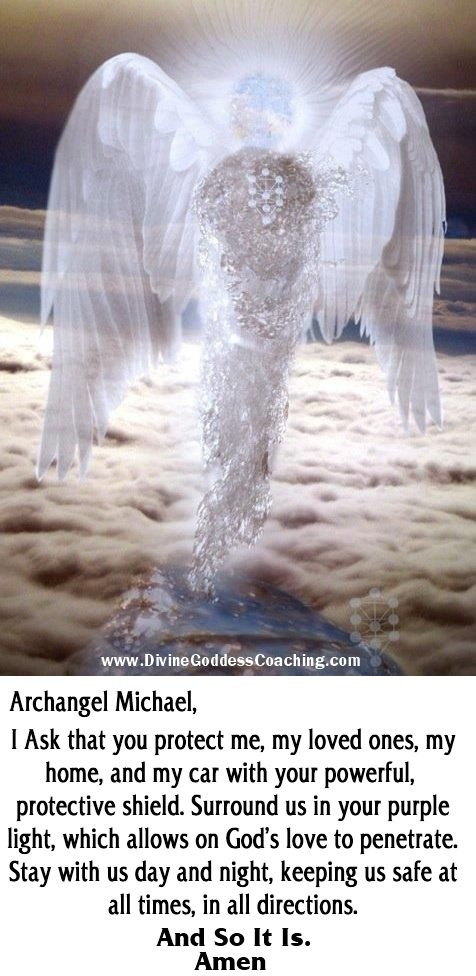 A simple prayer of protection for Archangel Michael ...