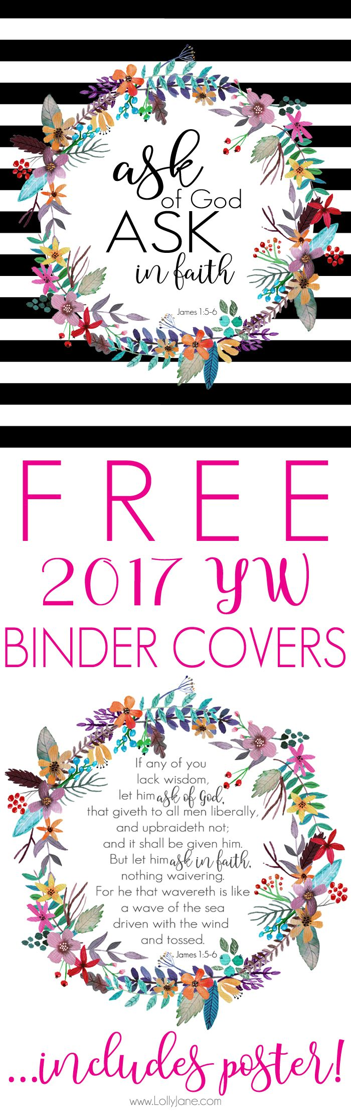 Get Your Free 2017 Lds Young Women Binder Cover With This