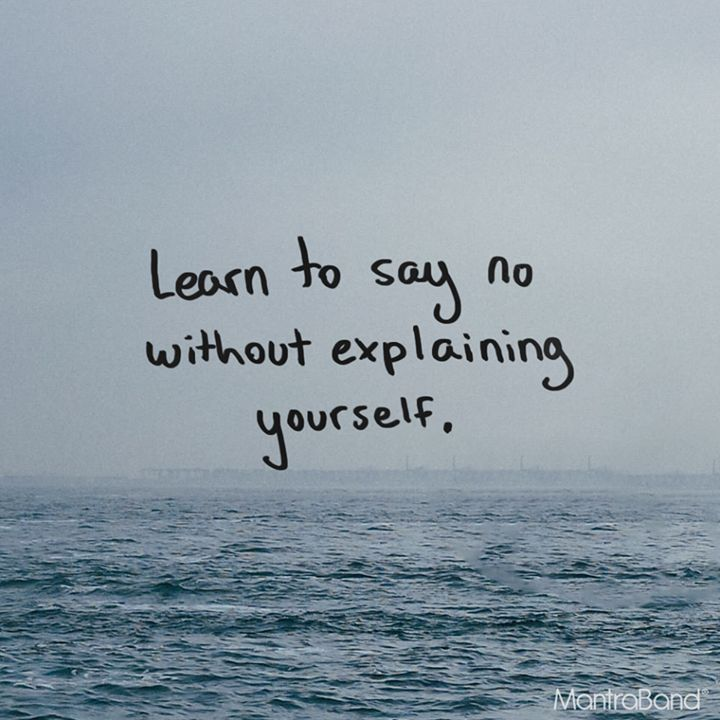 Inspirational Positive Quotes :Learn To Say No Without