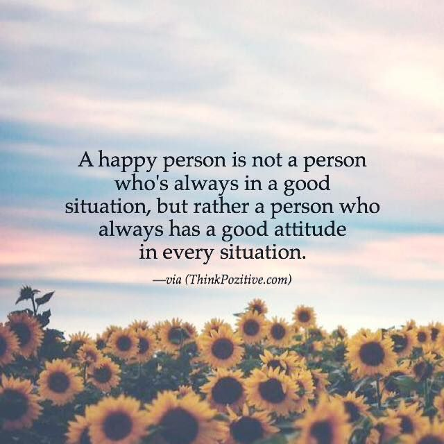Inspirational Positive Quotes A Happy Person Is Not A Person Who's Simple Quotes About Happy Person