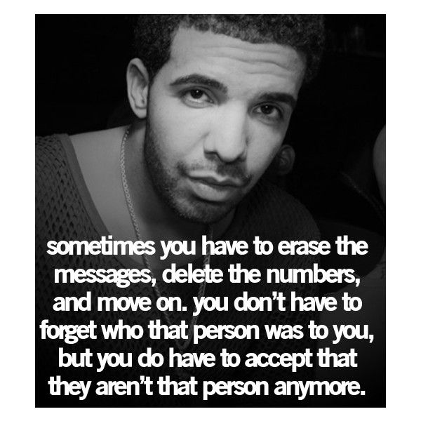 Breaking Up And Moving On Quotes :Drake Quotes | Tumblr ...