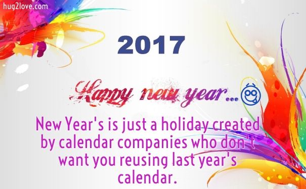 Happy New Year 2018 Quotes :New Year Funny Jokes wishes 2017 ...