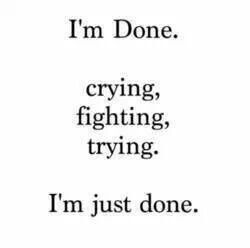 Breaking Up And Moving On Quotes :I\'m done with you ...