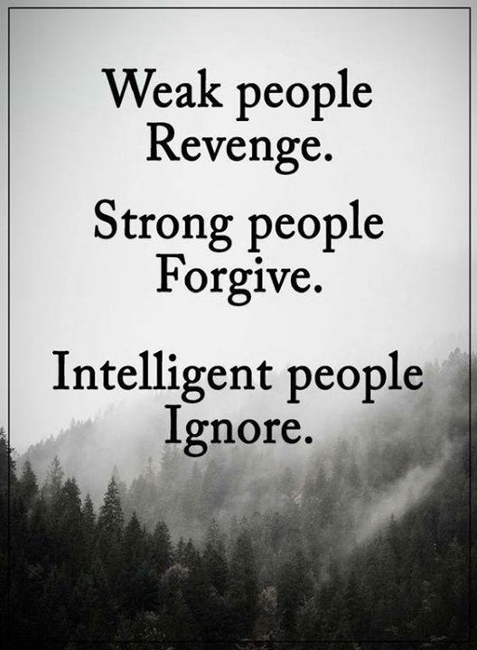 Inspirational Positive Quotes :Weak People revenge  Strong