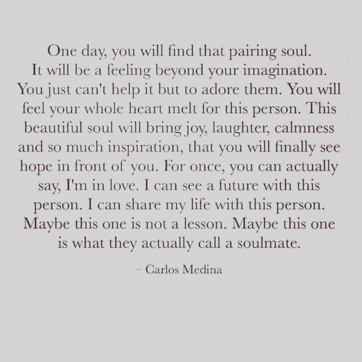 Love & Soulmate Quotes :Carlos Medina quote #words #soulmate